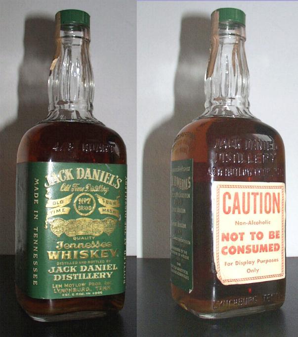 The Green Label Jack Daniel's