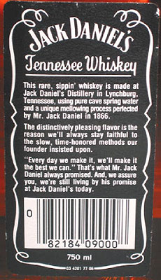 The Jack Daniel S Quot Fake Seal Quot Black Label Page