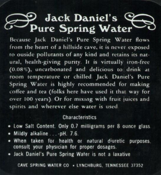 Here is a picture and brief description of the new Jack Daniels bottle.