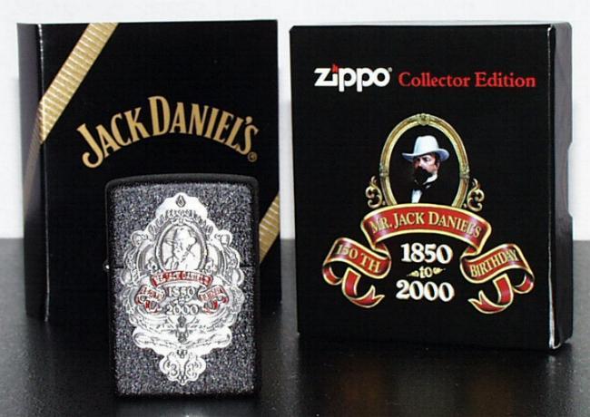 Amato The Jack Daniel's lighters, zippo's and match box covers VI82