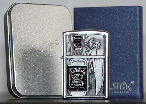 Molto The Jack Daniel's lighters, zippo's and match box covers OY96
