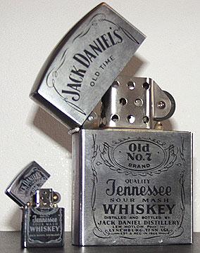 Eccezionale The Jack Daniel's lighters, zippo's and match box covers WS55